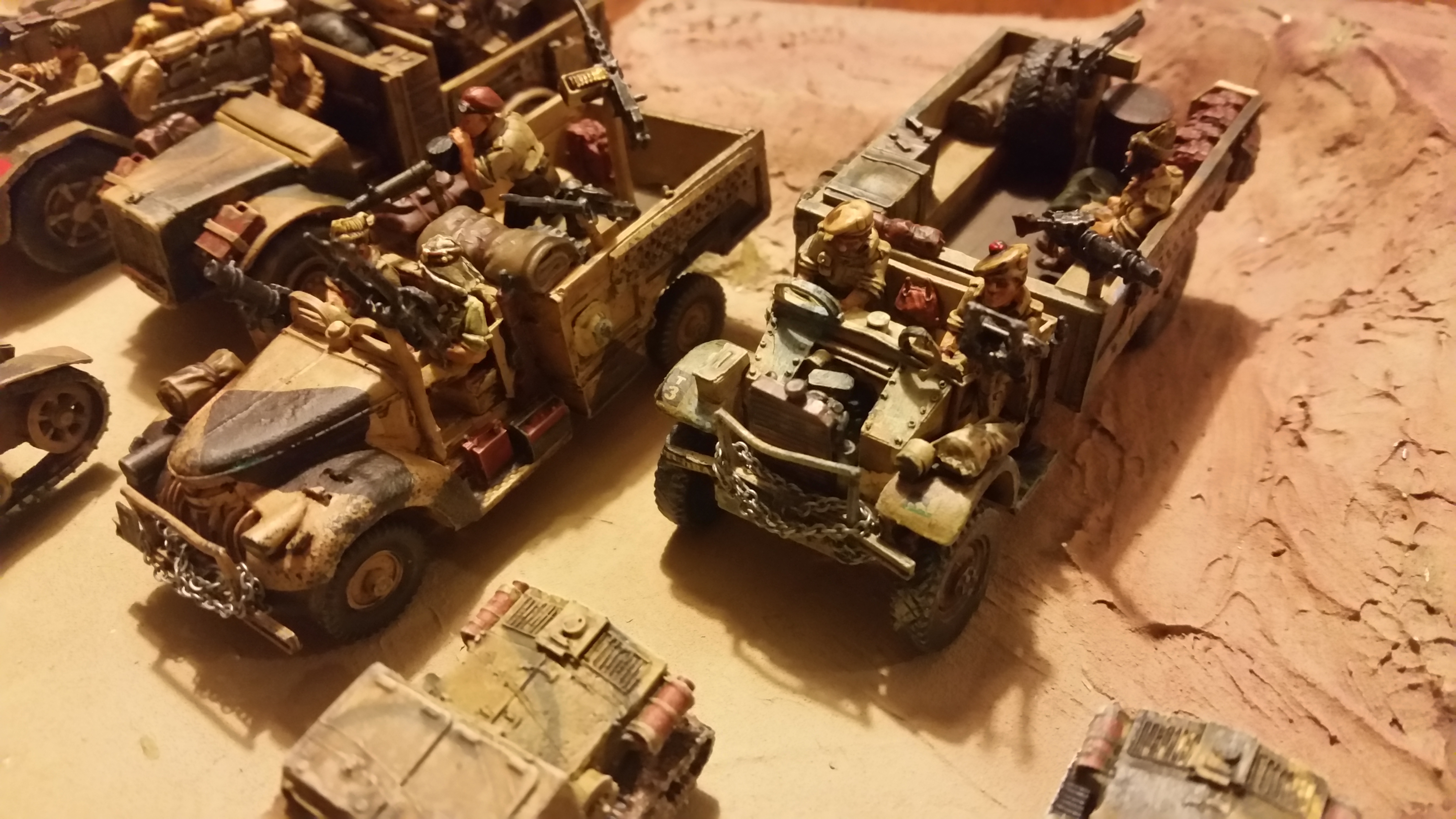 BA LRDG Trucks