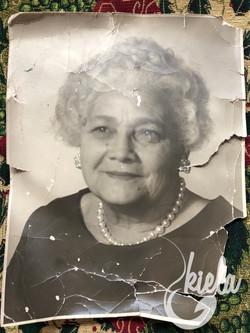 Josephine King Damaged Photo