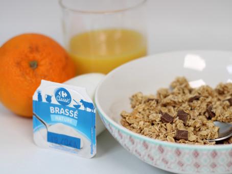 Le petit-déjeuner équilibré