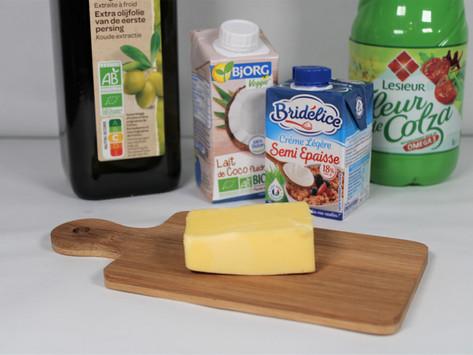 Les matières grasses dans l'alimentation
