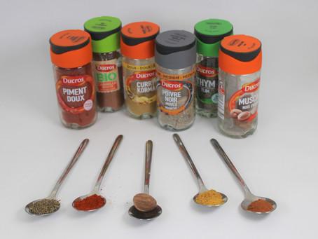 Les épices dans l'alimentation