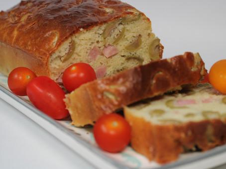 Cake jambon - olives