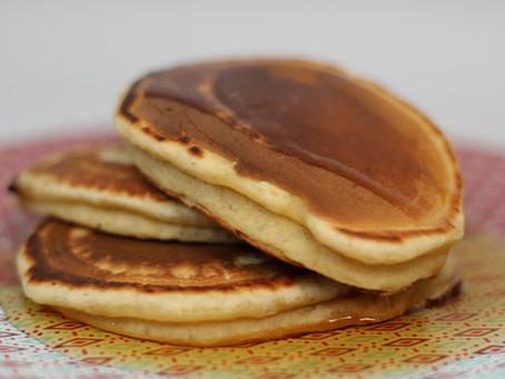 Les pancakes moelleux sans matières grasses