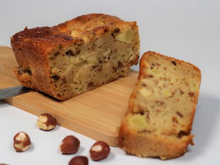 Gâteau Compote Pomme Noisettes