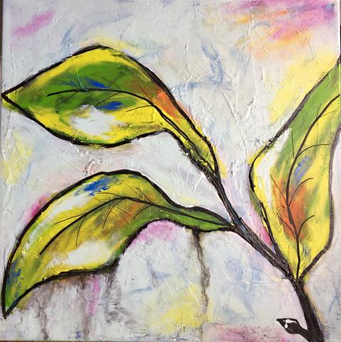 Leaves II - 30x30