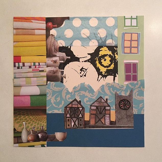 Collage No 5 - 30x30