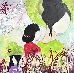 China Girls - 50x50