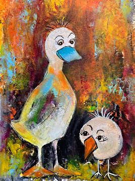 Turquoise Beak - 25x33