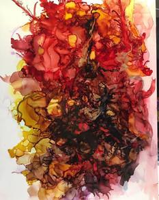 Alcohol Ink - Autumn
