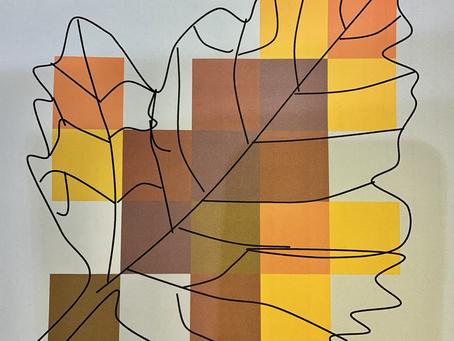 Min lille patchwork lap kommer på Trapholt museum 😊