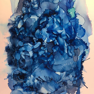 Alcohol Ink - Winter