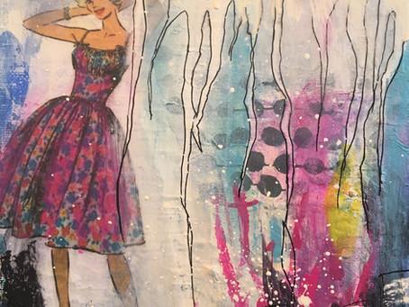 Retro, kvinder og skønne farver ...
