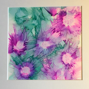 Alcohol Ink - 30x30