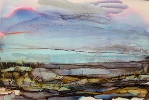 No 223 - Landscape Ink