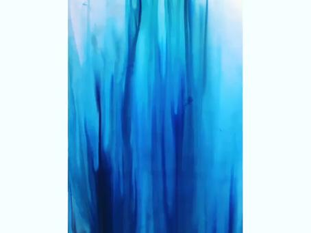 Alcohol Ink (blæk)- processen fra start til slut af mit værk