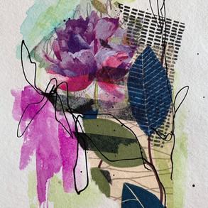 Summer Collage - 23x23