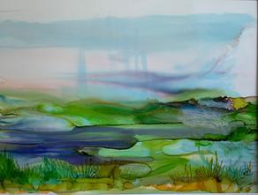 No 221 - Landscape Ink