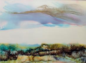 No 222 - Landscape Ink