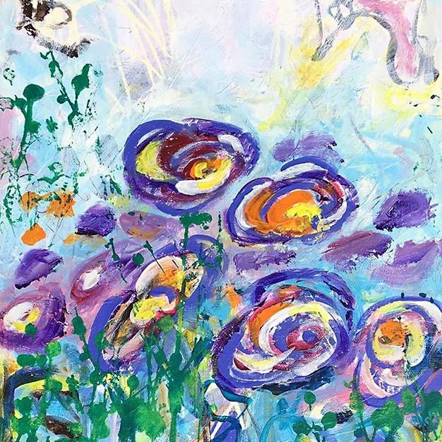 Summer Flowers - 40x50