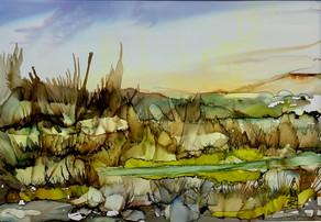 No 224 - Landscape Ink