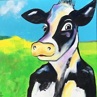 Happy Cows - 30x30