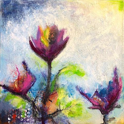 Tulips 50x50