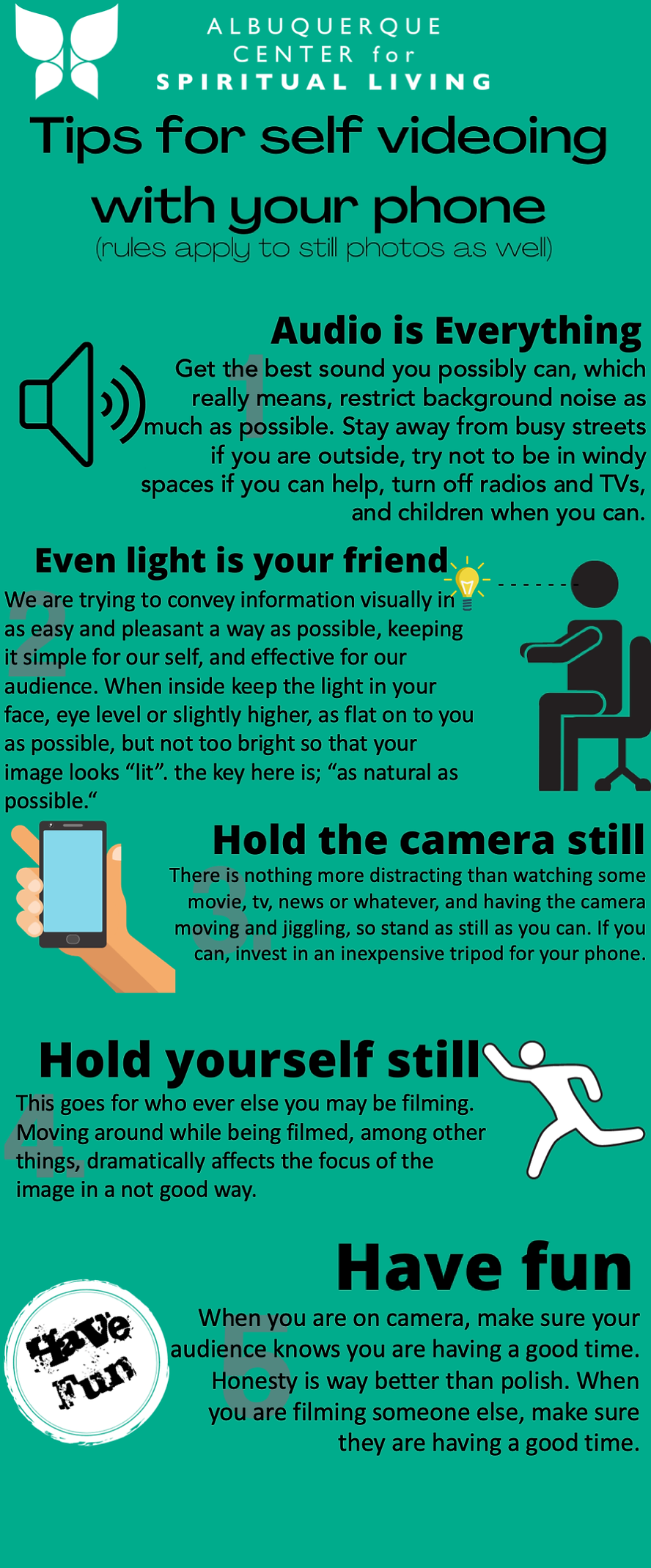 ABQ CSL Tips for self-videoing with your