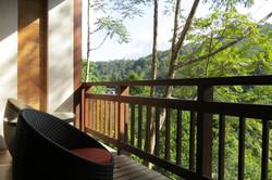 Annexe room balcony