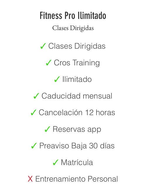 Matrícula+Fitness Pro Ilimitado