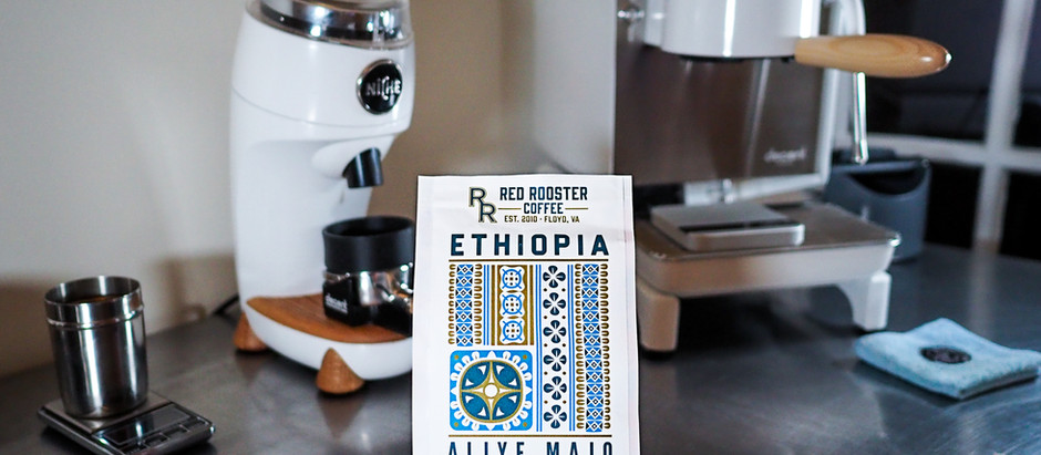 New Arrival!! Red Rooster Coffee - Ethiopia Aliye Majo Natural