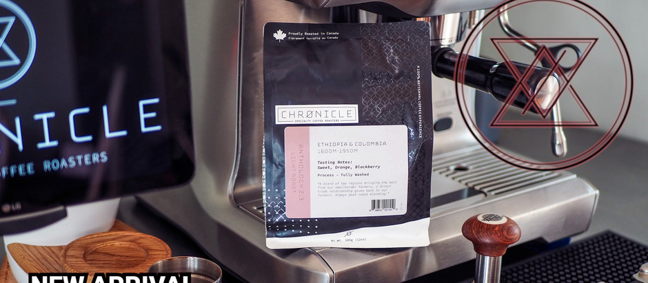New Arrival From Chronicle Coffee!