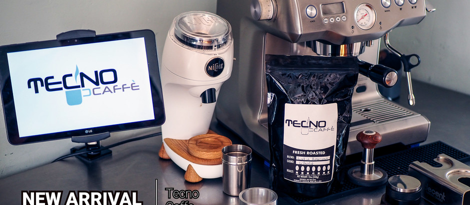 New Arrival from Tecno Caffe