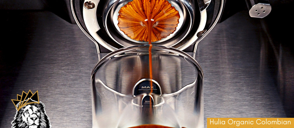 Black Tea Espresso - Humble Coffee Roasters Huila Organic Colombia Extraction & Review