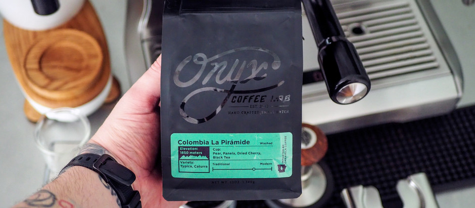 New Arrival from the Coffee King of the Ozarks! Onyx Coffee Lab