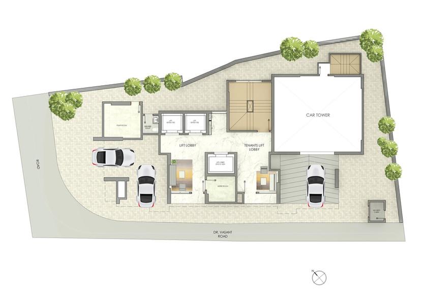 Shubhada Ground Floor Plan
