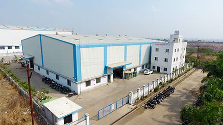 Image of the campus and the building of Reliable Autotech Plant 8 Nighoje manufacturing construction equipment components