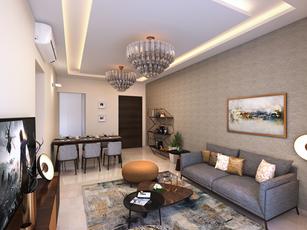 Laxmi Niwas Living Room