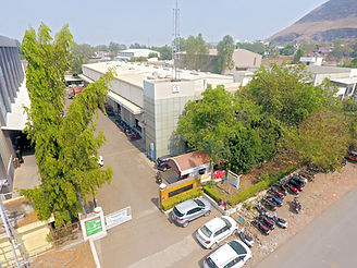Image of the campus and the building of Reliable Autotech Plant 2 Nashik manufacturing construction equipment components