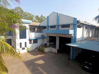 Image of the campus and the building of Reliable Autotech Plant 9 Nashik manufacturing defence components
