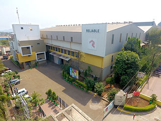 Image of the campus and the building of Reliable Autotech Plant 1 Nashik manufacturing material handling components