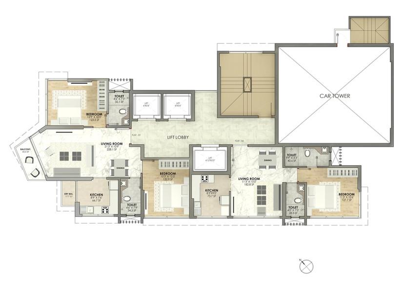 Shubhada Floor Plan