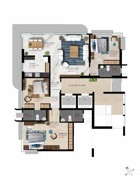 Parimal Floor Plan