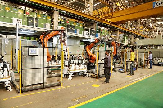 RAPL Plant 3 Robotic Welding