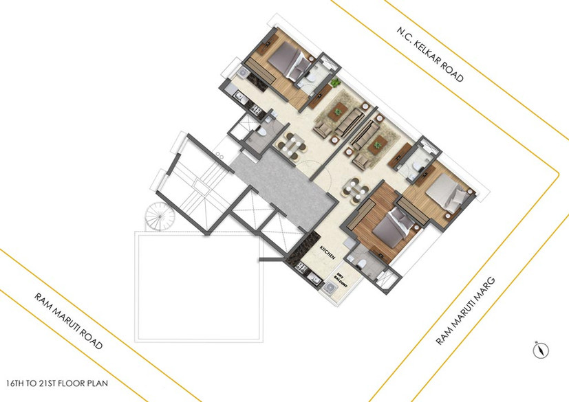Laxmi Niwas Floor Plan