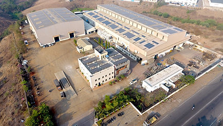Image of the campus and the building of Reliable Autotech Plant 3 Chakan Pune manufacturing agriculture and turf care components