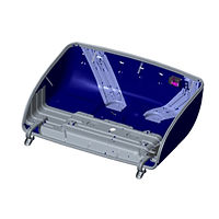 reliable material handling component hood assembly