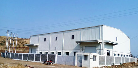 Image of the campus and the building of Reliable Autotech Plant 7 Pithampur, MP manufacturing agriculture and turf care components