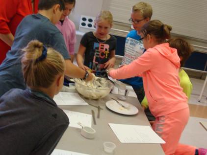 Faire de la cuisson à l'aide du français, des mathématiques ainsi que de la science!