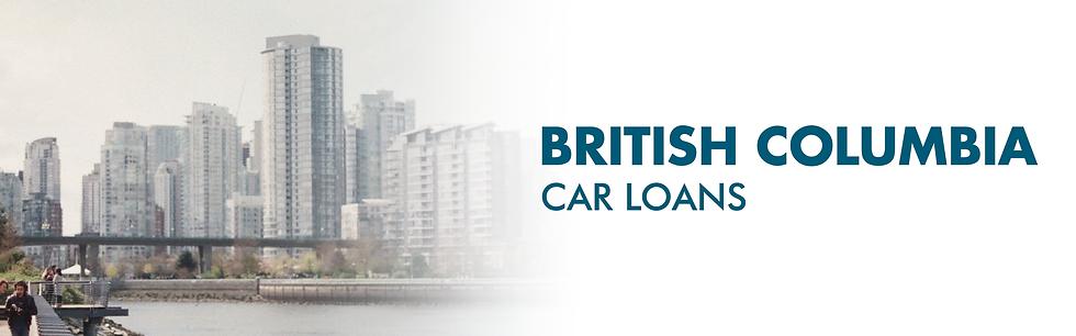 British Columbia Car Loans