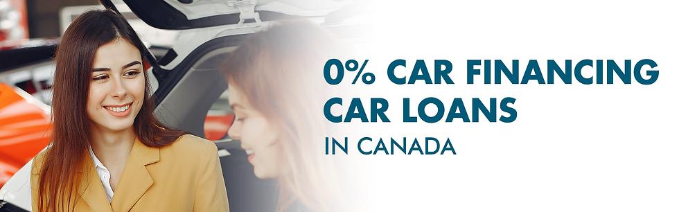 0% Car Financing Car Loans in Canada